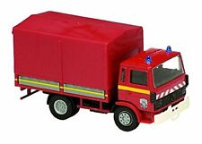 RENAULT BÂCHÉ TARPAULIN 1982 - 1:60 FRENCH FIREFIGHTER SOLIDO DIECAST MODEL CAR