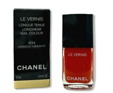 CHANEL Le Vernis Longwear Nail Colour 634 ARANCIO VIBRANTE New in Box