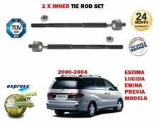 FOR TOYOTA PREVIA 2000-2004 NEW 2 x INNER STEERING TRACK RACK TIE ROD END