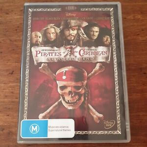 Pirates of the Caribbean At World's End DVD R4 Like New! FREE POST