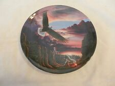 """1993 Eagle Dance by Lane Kendrick Collector Plate 7.75"""" (H1)"""