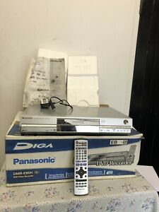 Panasonic DMR-E85H DVD RECORDER/80gb HDD &  Remote Control - Boxed