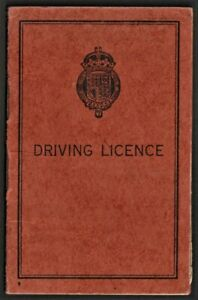 PROVISIONAL DRIVING LICENCE 1949  Horsforth, Leeds