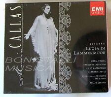 LUCIA DI LAMMERMOOR - CALLAS, TAGLIAVINI, CAPPUCCILLI - SERAFIN - 2 CD Sigillato