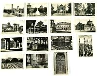 Milano Italy Lot of 15 Real Photo Art Cards B&W Souvenir 3.5 x 2.5 Inches