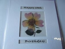 Happy 60th Birthday.........Blank Greetings Card....By Caroline Moore