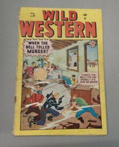 Wild Western #8 ~ 1949