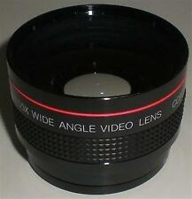 CAMERA PHOTOGRAPHY VIVITAR WIDE ANGLE VIDEO 0.55X KOREA LENS 46MM 52MM ADAPTOR