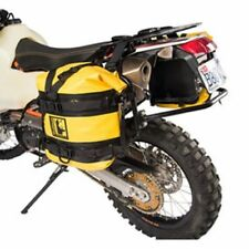 Honda Africa Twin CRF1000L DCT Tusk Pannier Racks w/ Wolfman Dry Saddle Bags