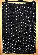 Sommerrrock schwarz weiß N4 Sterne MARC CAIN 40  Shirtrock Rock edel Punkte