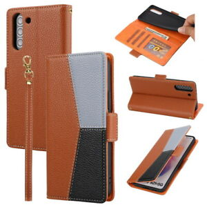 PU Leather Wallet Stand Flip Case For Samsung S20 FE S21 Ultra A32 A72 A52 Cover