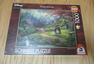 SCHMIDT DISNEY PUZZLE. MULAN BY THOMAS KINKADE 1000 PIECES - BRAND NEW & SEALED
