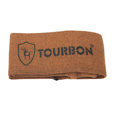 "Tourbon Rifle Gun Sock Cover Bag Shotgun Sleeve Carrier Shooting Orange 53"""