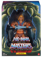 Masters of Universe Classics FILMATION He-Man 2.0 Figure Club Grayskull MOTU New