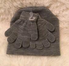 NWT Wonder Nation Toddler Boys' Ribbed Beanie & Gloves Set