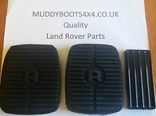 LAND Rover Discovery 1 & 2 Range Rover Classic Pedale Gomma Set di 3