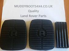 Land Rover Discovery 1 & 2 Range Rover Clásico Juego De 3 Goma Pedal