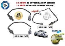 para Toyota MR2 1.8 VVTi 2000-2007 2x delante + 1x TRASERO O2 Sensor Lambda Set