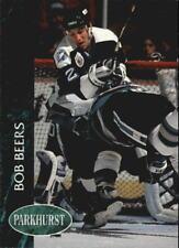 1992-93 Parkhurst Lightning Hockey Card #401 Bob Beers