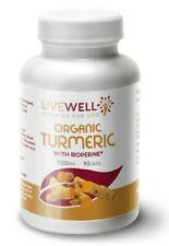 Turmeric - 1000mg Daily Added Bioperine® Curcumin Anti-Inflammatory Antioxidant