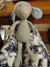 "Hazel Village Stuffed Animal Soft toy Oliver the mouse plush 14"" 2012 gray w/tag"
