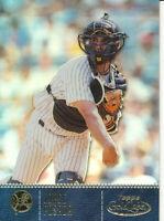 Jorge Posada 2001 Topps Gold Label #56 Class 1 New York Yankees Baseball Card