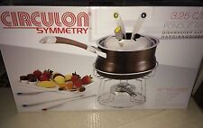 Circulon Symmetry 3.25 Quart Fondue Set