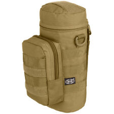 MFH MOLLE Tas Trekking Wandelen Outdoor Leger Side Waterfles Pouch Coyote Tan