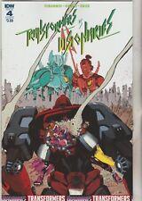 IDW Comics Transformers VS Visionaries #5 May 2018 Variant B 1st Print NM