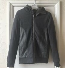 EMPORIO /ARMANI X-CHANGE Black And grey soft LUXURY fleece size S