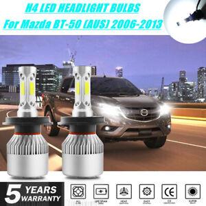 For Mazda BT-50 2006 - 2013 LED H4 9003 Headlights HEAD LIGHT BULBS UPGRADE KIT