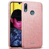 Handy Hülle für Honor 10 Lite Schutz Tasche Silikon Cover Glitzer Slim Case