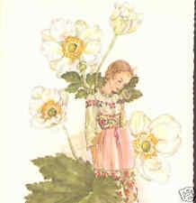 Fantasy Flower Girl With Poppies,Poppy,Torinus,Pos tcard