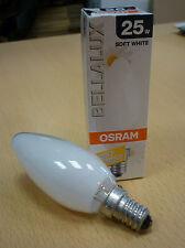 OSRAM bombilla vela Bellalux Soft Softone blanco ópalo 25W E14 Lámpara de velas