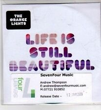 (CI199) The Orange Lights, Life Is Still Beautiful - 2009 DJ CD