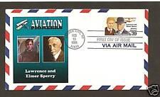 C114 * AVIATION PIONEERS * LAWRENCE & ELMER SPERRY *