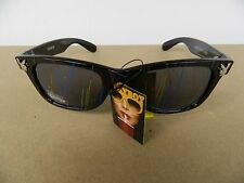 Playboy Sunglasses Shades Black with Colored Splash