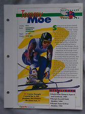 TOMMY MOE SPORTS HEROES BOOKLET SHEET CARD #34