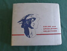 1964 MERCURY & COMET  COLOR & UPHOLSTERY DEALER SHOWROOM ALBUM FOMOCO SIGN