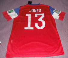 Jermaine Jones Signed Auto'D Nike Jersey Psa/Dna Y97181 Usmnt Soccer Revolution