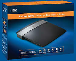Cisco Linksys E2500 300 Mbps Dual Band Wireless Router