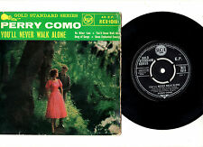 """PERRY COMO.YOU'LL NEVER WALK ALONE.UK ORIG 7"""" EP & PIC/SL.VG+/VG+"""