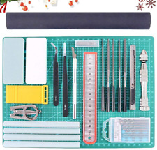 Rustark 27Pcs Modeler Basic Tools Craft Set Hobby Building Tools Kit for Gundam