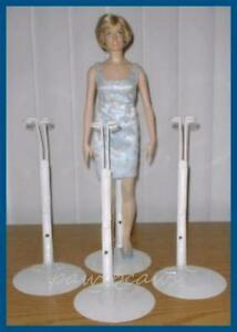 3 Kaiser 2625 Doll Stands for Franklin Mint Vinyl Princess Diana Titanic Rose