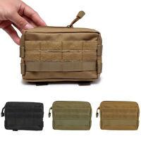 Mini Nylon Tactical Military Modular Molle Utility Tools Waist Case Pouch Bag