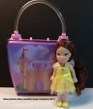 Princess Doll Pink Castle Storage Purse Gift Collectible