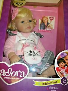 """Adora The Cat's Meow 20"""" Toddler Time Baby Doll  New (No Shoes)"""