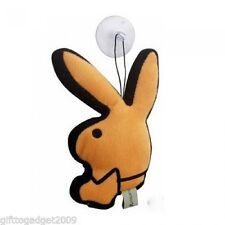 Playboy Bunny Rabbit Head Mini Window / Car Cushion Orange New