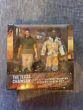 NECA Texas Chainsaw Massacre Hitchhiker Nubbins Puppet Action Figure 2 Pack MIB