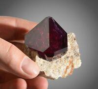 Alum Crystal cluster purple like fluorite alun alunite